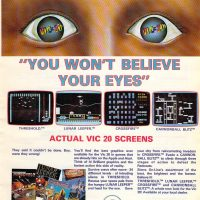 Sierra computer video games for the Commodore VIC-20 home computer