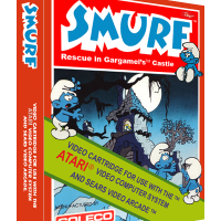 Smurf: Rescue in Gargamel's Castle, a video game for the Atari 2600 video game console