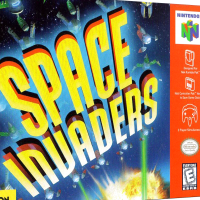 Space Invaders, a video game for the N64 video game console
