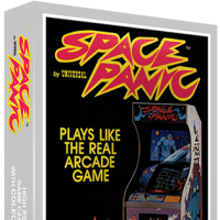 Space Panic, a home video game for the Colecovision video game console