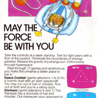 Space War, a video game for the Atari VCS