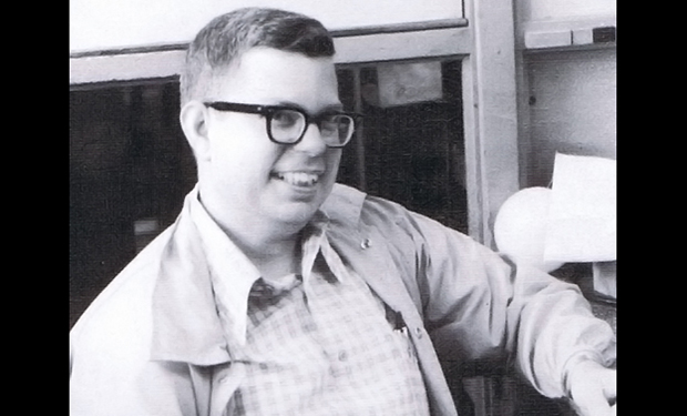 Image of Steve Russell, designer of early computer video game Spacewar