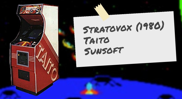 Stratovox, an arcade video game by Taito