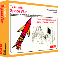 Space War, a video game for the RCA Studio II video game console