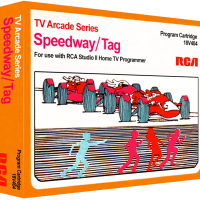 Speedway/Tag, video games for the RCA Studio II video game console
