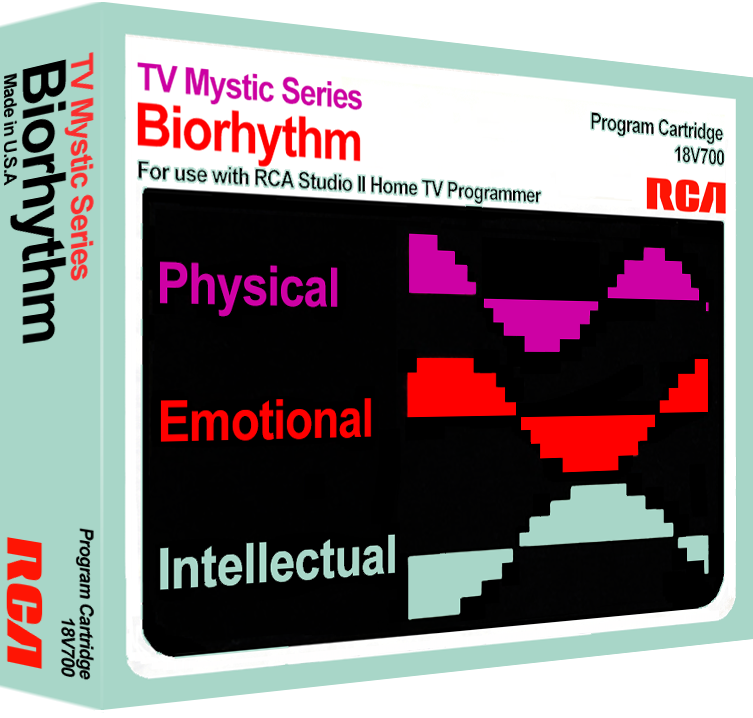 Biorhythm, a self-help program for the RCA Studio II home video game console
