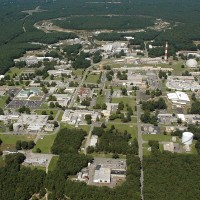 Arial view of Brookhaven National Labs, circa 2007