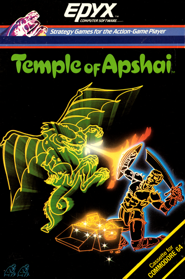 Temple of Apshai, a computer role playing game for the C64 personal computer