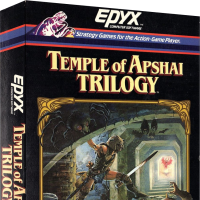 Temple of Apshai Trilogy, a computer video game collection for MS-DOS, Epyx