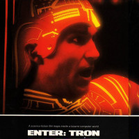 Article featuring a preview of Tron, Omni magazine 1982