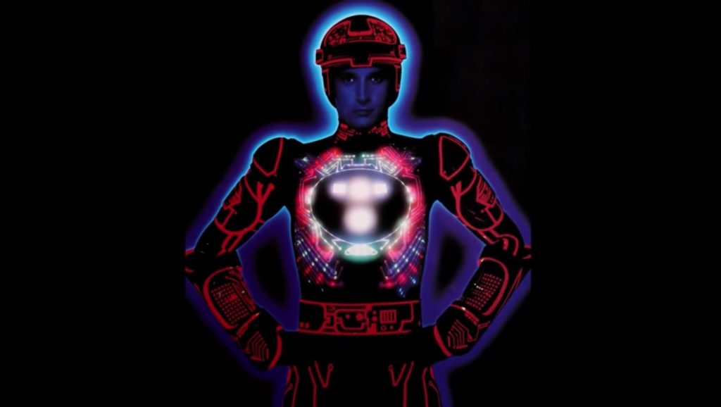 Tron, a video game movie by Disney