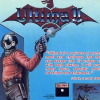 Ad for Ultima II, a computer video game by Richard Garriott aka Lord British