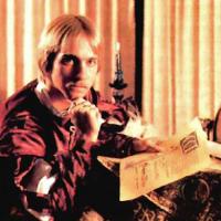 Image of Lord British, aka Richard Garriott, designer of the Ultima computer game series, circa 1984