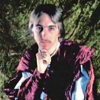 Circa 1984 image of Lord British, aka Richard Garriott, designer of the Ultima computer game series