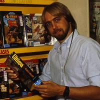 Richard Garriott, a computer video game designer, maker of the Ultima games