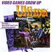 Ultima III: Exodus, a home video game for the NES, by Origin Systems