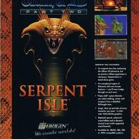 Ad for Ultima VII Part II: Serpent Isle, Origin 1992