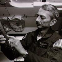 Owen Garriott on Spacelab, circa 1983