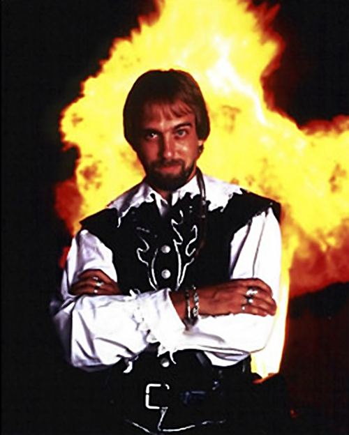Undated photo of Lord British, aka Richard Garriott, designer of the Ultima computer RPG games