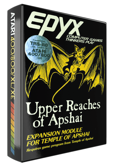 Upper Reaches of Apshai, expansion module for Temple of Apshai, a computer role playing game by Epyx