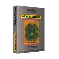 Armor Attack, a home video game for the Vectrex video game console