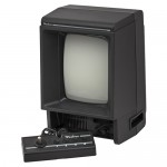 Image of the Vectrex, a video game system by GCE 1982