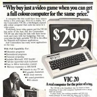 VIC-20, a home computer by Commodore