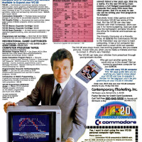 William Shatner in an ad for the VIC-20, a home computer by Commodore, 1982