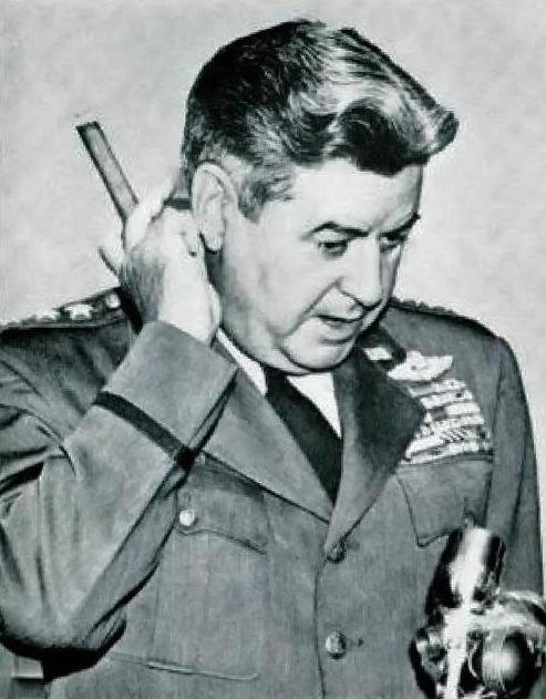 Curtis Lemay, army general and SAC commander