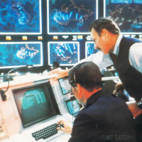 Image from the 1983 video-game themed movie WarGames, UA