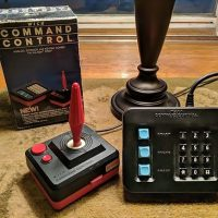 Wico Command Center Joystick and Keypad controller for the 5200, a home video game console by Atari