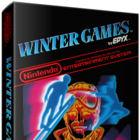 Winter Games, a computer sports game by Epyx for the NES video game console