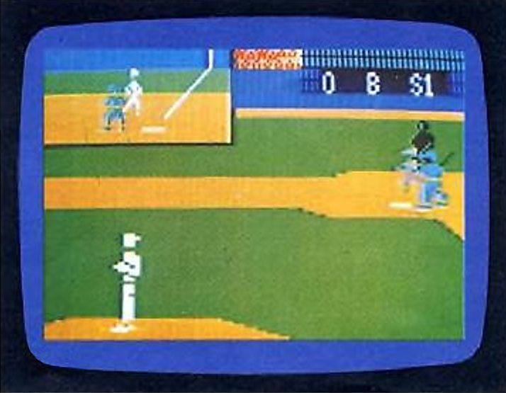World Series Major League Baseball, a game for ECS, a computer upgrade for the Intellivision, a home video game console by Mattel