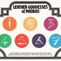 Scratch n' sniff card for Infocom text adventure Leather Goddesses of Phobos
