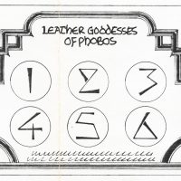 Mockup for scratch 'n sniff card from Infocom text adventure Leather Goddesses of Phobos
