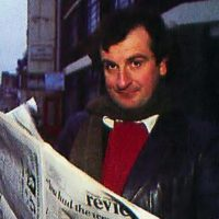 Douglas Adams, author of Infocom game Hitchhiker's Guide to the Galaxy