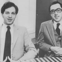 Mark Blank (L) and Joel Berez, of Infocom, publisher of Zork, 1984