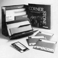 Cornerstone, a business software by computer video game company Infocom