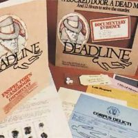 Deadline, a mystery text adventure game by Infocom