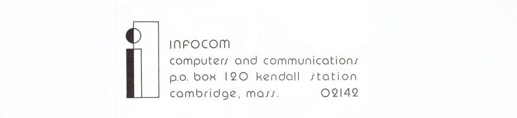 Early logo for Infocom, a computer text adventure maker