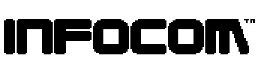 Logo for Infocom, makers of home computer text adventures, circa 1982
