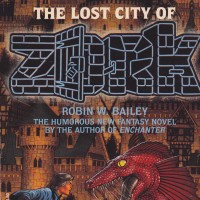 Cover of Lost City of Zork, a book from the Zork universe, computer games by Infocom