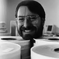 Image of Steve Meretsky, computer game designer at Infocom