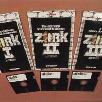 Zork trilogy, text adventures by Infocom