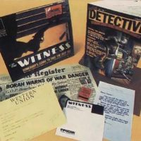 The Witness, a text adventure computer game by Infocom