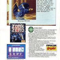 Zork Zero, a computer text adventure by Infocom