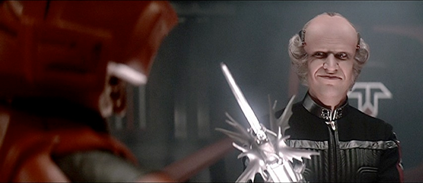 Still featuring Norman Snow as Xur in The Last Starfighter, a video game themed film by Universal 1984