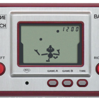 Game & Watch handheld game Ball, by Nintendo 1980
