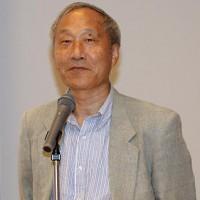 Image of Masayuki Uemura, developer of the Nintendo Famicom, at 2010 CEDEC