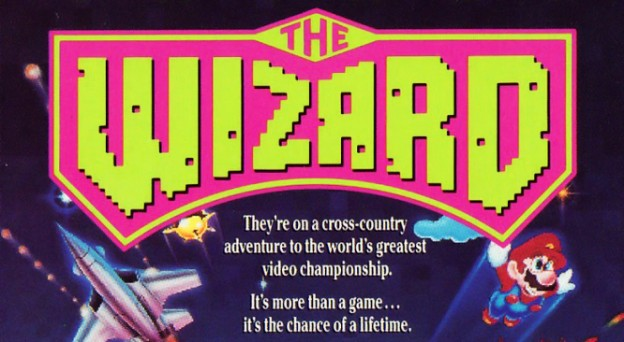 Title for The Wizard, a video game movie by Universal 1989